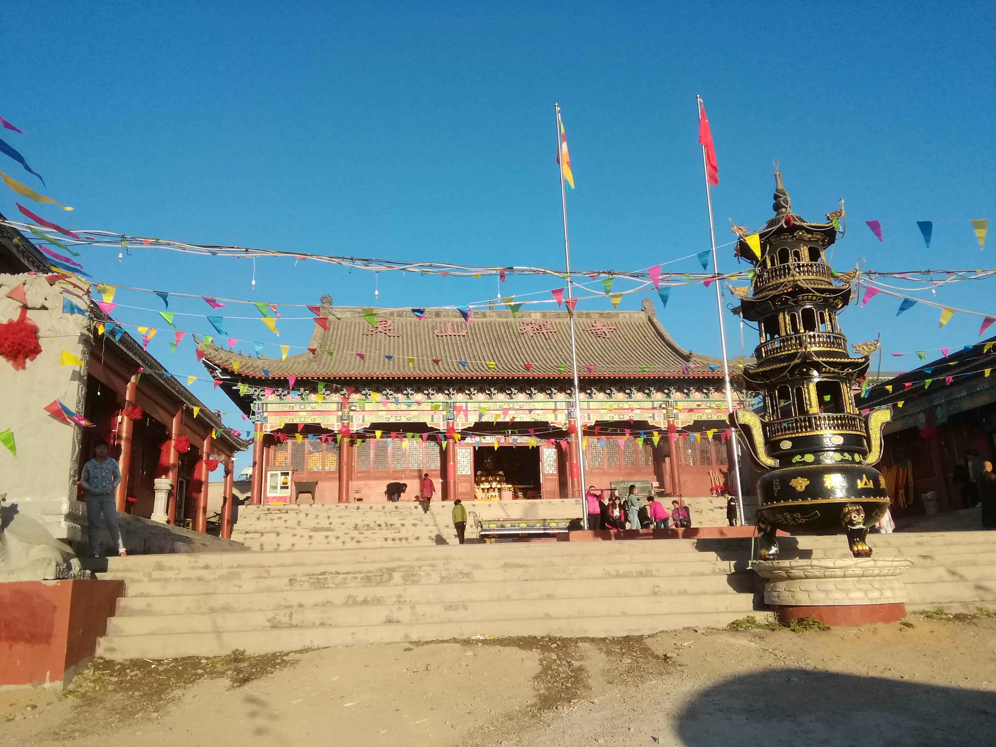 这里是辽宁省葫芦岛--灵山禅寺